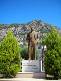 Ataturk Memorial. Araturm monument with green trees Royalty Free Stock Photos