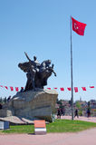 Ataturk Monument, Antalya Stock Photo