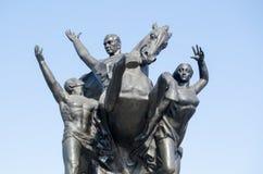 Ataturk Monument, Antalya, Turkey Stock Photography