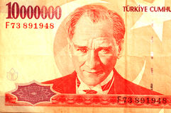 Ataturk Portrait Stockfotos