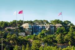 Ataturk relief in Antalya, Turkey. Mustafa Kemal Ataturk relief in Antalya, Turkey stock photos