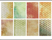 ATC Backgrounds Patterned3 Royalty Free Stock Images