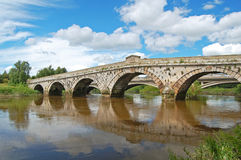 Atcham bridge Stock Photo