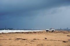 atching приходя шторм личной охраны Стоковое фото RF