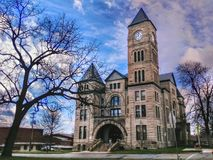 Atchison County domstolsbyggnad Royaltyfri Bild