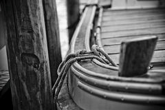 Ate el barco fotografía de archivo