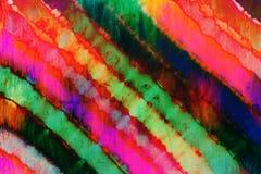 Ate el modelo teñido en fondo teñido inmersión del extracto de la técnica de la tela de algodón Foto de archivo