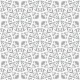 Ate en modelo geométrico del vector gris, simple Fotos de archivo