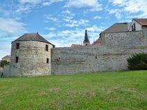 Žatecká Gate - fortification Stock Photos