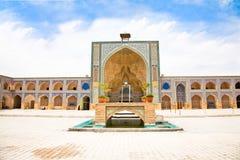Ateegh Jame (vendredi) Mosque.Esfahan, Iran Images libres de droits