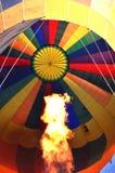 Ateie fogo acima ao baloon Imagem de Stock