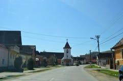 Atel Een dorp in Transsylvanië Roemenië Royalty-vrije Stock Foto