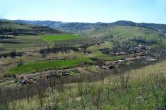 Atel Ein Dorf in Siebenbürgen Rumänien Lizenzfreie Stockbilder