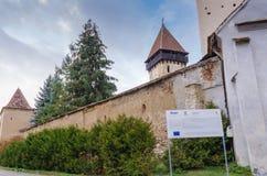 Atel fortificou a igreja Foto de Stock Royalty Free
