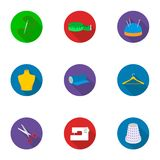 Atelie set icons in flat style. Big collection of atelie vector symbol stock illustration Stock Photo