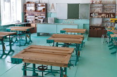 Atelier à l'école. photographie stock libre de droits