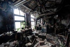 Atelier abandonné de moulin photos libres de droits