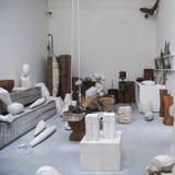 Atelier Brancusi Royaltyfri Fotografi