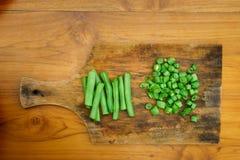 Atelier culinaire Salade végétale Photographie stock libre de droits