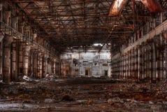 Atelier d'usine abandonnée Photos libres de droits