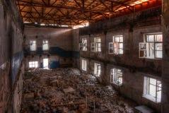 Atelier d'usine abandonnée Images stock