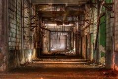 Atelier d'usine abandonnée Photo stock