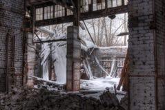 Atelier d'usine abandonnée Photos stock