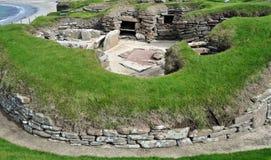 Atelier, dans un village préhistorique. Photographie stock libre de droits