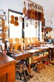 atelier de 2 violons Photos libres de droits