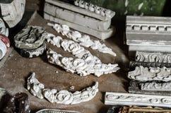 Atelier de bâti de stuc Images stock