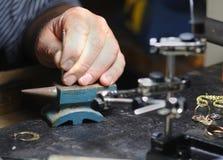 Atelier de bijoux Photos libres de droits