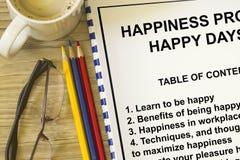 Atelier de bonheur Photos libres de droits