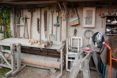 Atelier de bricoleur Photos stock