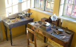 Atelier de calligraphes Photo libre de droits