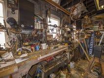 Atelier de chantier naval Image libre de droits