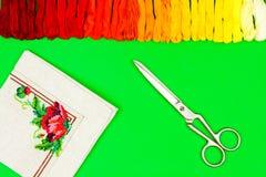 Atelier de couture et de broderie/lieu de travail Photos libres de droits