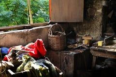 Atelier de fabrication de savon, Tripoli, Liban Photos libres de droits