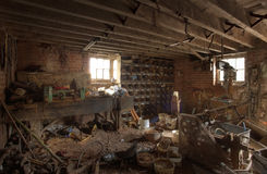Atelier de ferme Image stock