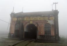 Atelier de locomotive à vapeur image libre de droits