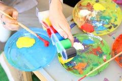 Atelier de peinture Images libres de droits