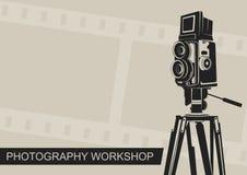 Atelier de photographie Images libres de droits