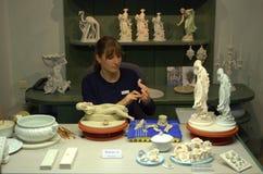 Atelier de porcelaine Images libres de droits