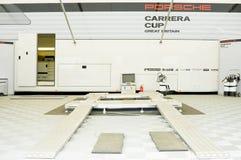Atelier de Porsche Photos libres de droits