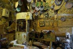 Atelier de poterie d'Avanos Images stock