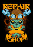 Atelier de réparations Images stock