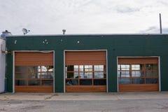 Atelier de réparations abandonné à Rochester, Michigan photographie stock libre de droits