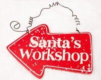 Atelier de Santa Photos stock