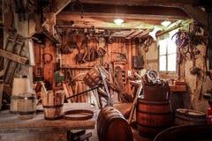 Atelier de vieille tradition jpg Photographie stock libre de droits
