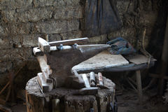 Atelier degli strumenti Fotografie Stock