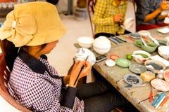 Atelier en céramique Photographie stock libre de droits